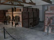 Ovens in Dachau Concentration Camp